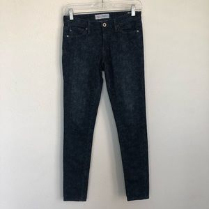 AG + Liberty Art Fabric Skinny Stretch Denim Jeans